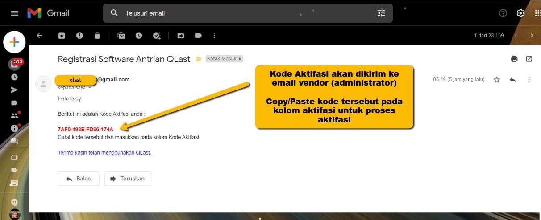 email aktifasi